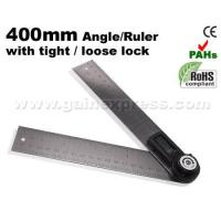 Buy cheap 2in1 Digital Angle Finder Meter Protractor Ruler 360 400mm from wholesalers