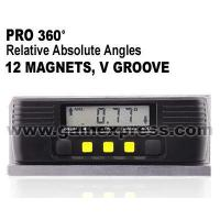 Buy cheap Digital Level Meter / Protractor Always Upright Display with V-G from wholesalers