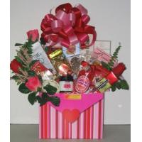 Buy cheap Sealed With A Kiss Gift Basket from wholesalers