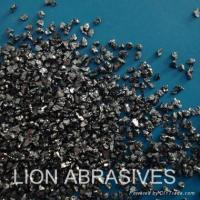 Wholesale Black silicon carbide grit for abrasive polishing and sandblasting from china suppliers