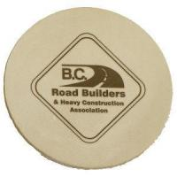 Buy cheap Buffed Leather Coaster - Medium from Wholesalers