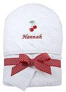 Wholesale Personalized Sweet Cherry Hooded Towel from china suppliers
