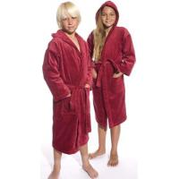 Buy cheap Red Hooded Terry Kid's Bathrobe from Wholesalers