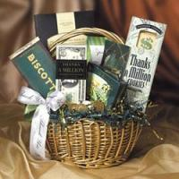 Wholesale Gourmet Gift Baskets Thanks a Million from china suppliers