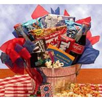 Gourmet Gift Baskets Blockbuster Movie Night