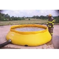 Self-Supporting Frameless Portable Water Tank Fire Department Model (Low Side)