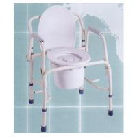 Wholesale Deluxe Double Armrest Moveable Commode from china suppliers