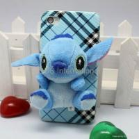 Wholesale Stereo various 3D lint cartoon hard case for iphone 4G 4S from china suppliers