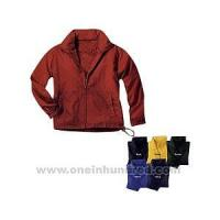 Wholesale Full-zip nylon Anorak jacket, fits into a travel pouch. from china suppliers