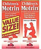 Wholesale Children's Motrin Berry Flavored Suspension 8 Ounces Two-pack, 4 oz. Each from china suppliers