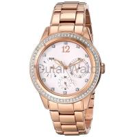 Wholesale rose gold plated alloy lady watch from china suppliers