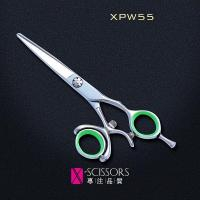 Wholesale 360 degree swivel handle hair cutting scissor XPW55 from china suppliers
