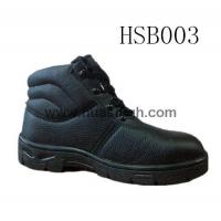 Wholesale Hotselling Product barton printed leather safety shoes in black from china suppliers