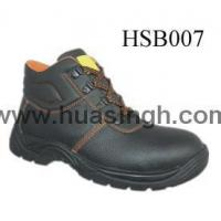 Wholesale Hotselling Product embossed leather anti-hit safety work boots from china suppliers