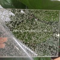 bubble acrylic sheet for decoration