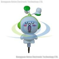 Buy cheap Lovely Style Baby Face Cartoon Retractable Earphone from Wholesalers