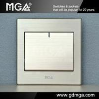 Buy cheap MGA Q7L Series 1Gang 1 way legend wall electrical Switch from wholesalers