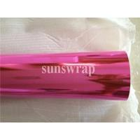 Wholesale Pink Mirror Chrome Film from china suppliers
