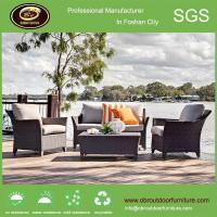 China Aluminium synthetic outdoor sofa furniture garden rattan sofa sets on sale