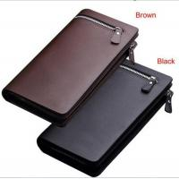 Zipper Wallet For Business Genuine Leather Man's Wallet