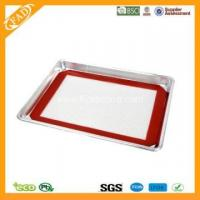 China Non-Stick Food Grade Bakeware Silicone toaster oven sheet FYK-91101 on sale
