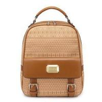 Wholesale 2013 Girl PU Leather Backpack/Satchel Handbag Apricot from china suppliers