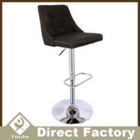 Wholesale Buttons Swivel Adjustable Fabric Bar Chair With Back from china suppliers