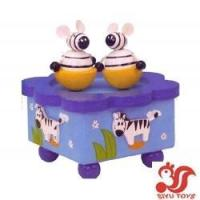 Wholesale Musical toys Wooden Rotating Music Box Model No.: SY15018 from china suppliers