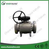 Wholesale api 6d ball valves API 6D Forged Steel Trunnion Ball Valve from china suppliers