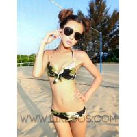 Swimwear Camouflage Bikini with Coverup