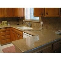 Buy cheap Sunset Gold Granite Kitchen Top from Wholesalers