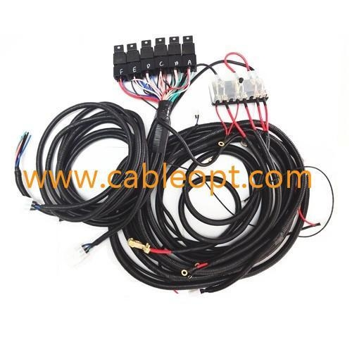 trailer wire harness with fuse box 8pin of item 45827878 7 pin trailer wire harness colors 8 pin trailer wire harness