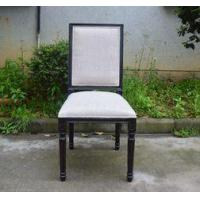 Wholesale Factory Wooden Hotel Banquet Vintage Back Linen Framed Wedding Chairs with Birch Wood Legs from china suppliers