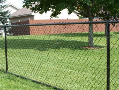 Chain Link Fence Of Item 45812374