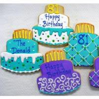 China Birthday Cake Cookie Favor on sale