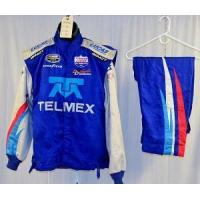 Wholesale TelMex Impact SFI-5 3pc Race Used NASCAR Fire Suit #5006 46/40/26 from china suppliers