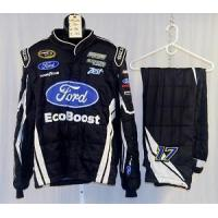 Wholesale Ricky Stenhouse Ford EcoBoost Sparco SFI5 NASCAR Firesuit #4565 50/38/32 from china suppliers