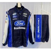 Wholesale Chris Buescher Ford Ecoboost Sparco SFI5 NASCAR Racing Suit #4612 54/40/33 from china suppliers
