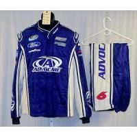 Wholesale Trevor Bayne Advocare Sparco SFI5 Race Used NASCAR Firesuit #4611 48/38/31 from china suppliers