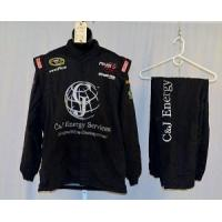 Wholesale Terry Labonte C&J Energy Simpson Race Used NASCAR Racing Suit #4382 50/38/34 from china suppliers