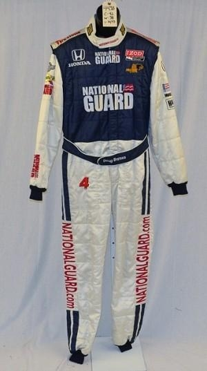 Quality National Guard Panther Racing Sparco Racing Suit. FIA Rated. #4438 42/38/33 for sale