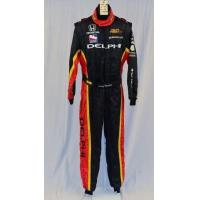 Wholesale Delphi OMP Panther Racing NOMEX Indy Car Racing Fire Suit. FIA Rated #4478 42/34/30 from china suppliers
