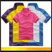 Wholesale Polo shirts Fashion design men's polo t-shirt from china suppliers