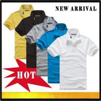 Wholesale Polo shirts New arrival men's polo t shirt from china suppliers