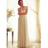 Wholesale New Women's Lace Bow Wedding Evening Party Dress from china suppliers