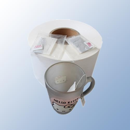 Quality 100% wood pulp teabags filter paper for sale