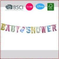 Buy cheap Baby Shower Letter Banner from Wholesalers