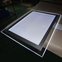 Wholesale Hot sale wall mounting single side acrylic crystal magnetic led light box / acrylic signage from china suppliers