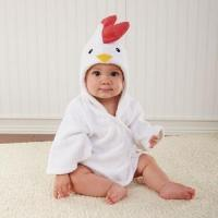 Buy cheap Soft hooded baby bathrobe towel from Wholesalers