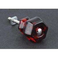 China Antique Ruby Red Glass Knob - 1-1/4 on sale